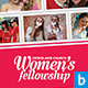 Women's Fellowship Church Flyer - GraphicRiver Item for Sale