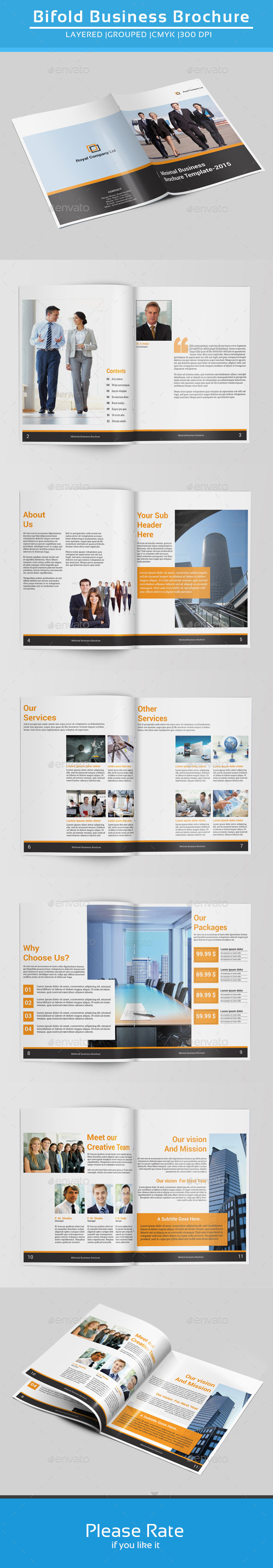 Indesign Business Brochure-V143 - Corporate Brochures