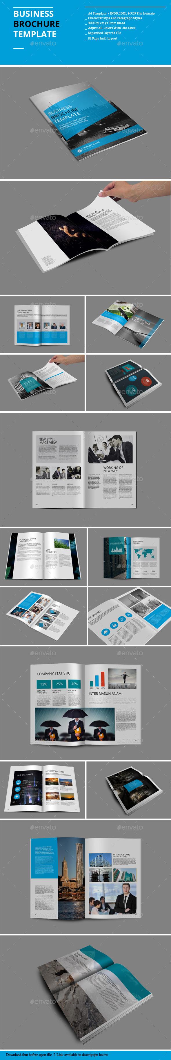 Business Brochure Templates - Corporate Brochures