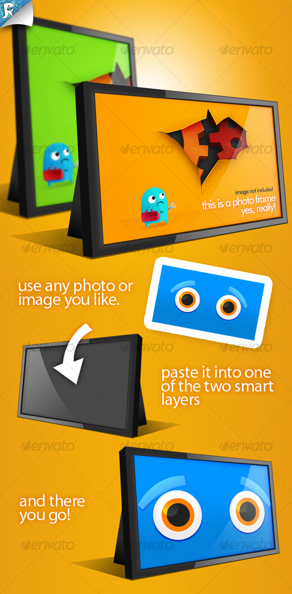 Photo & Image Frames - Photo Templates Graphics