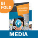 Media and Communication Bifold / Halffold Brochure - GraphicRiver Item for Sale