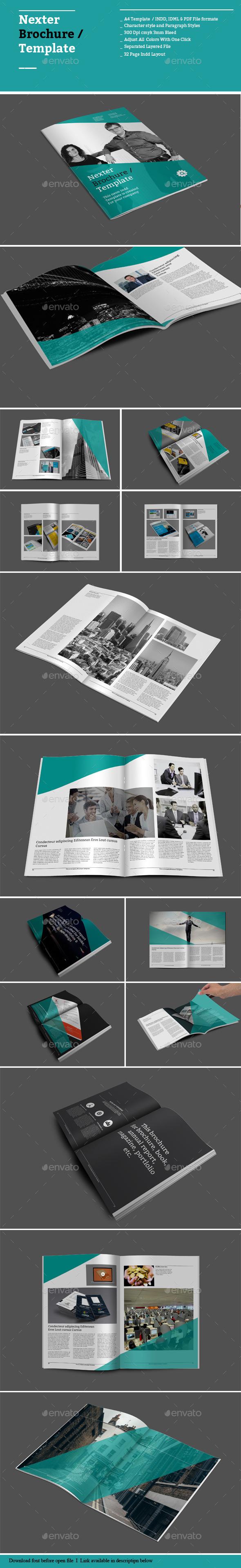 Nexter Brochure Templates - Informational Brochures