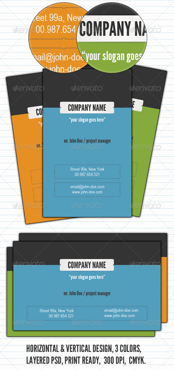 Clean & Simple Business Card  - Creative Business Cards