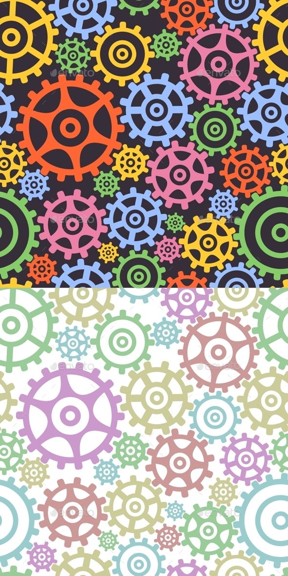Background from Gears - Backgrounds Decorative
