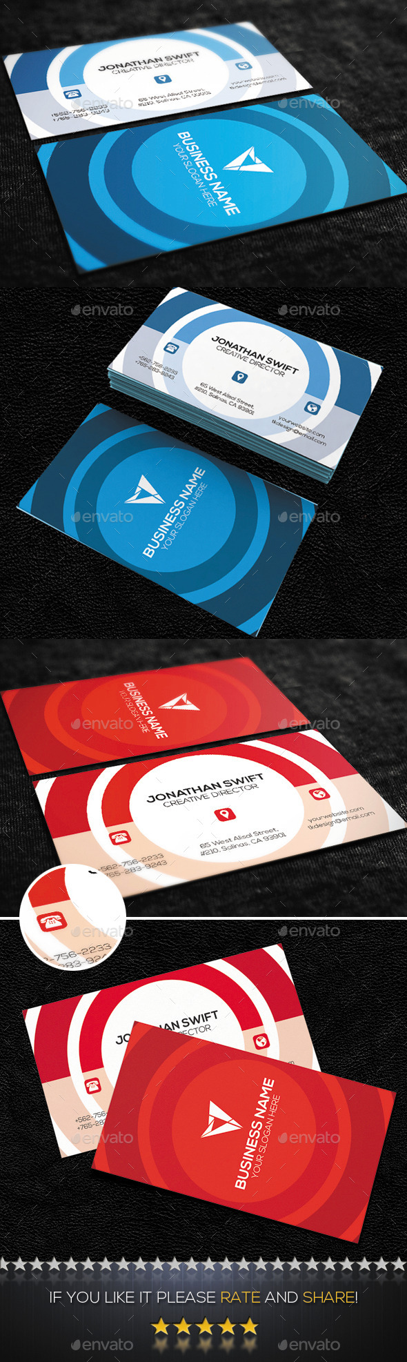 Creative Business Card No.06 - Creative Business Cards