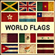 World Flags Grunge and Retro (Part 4) - GraphicRiver Item for Sale