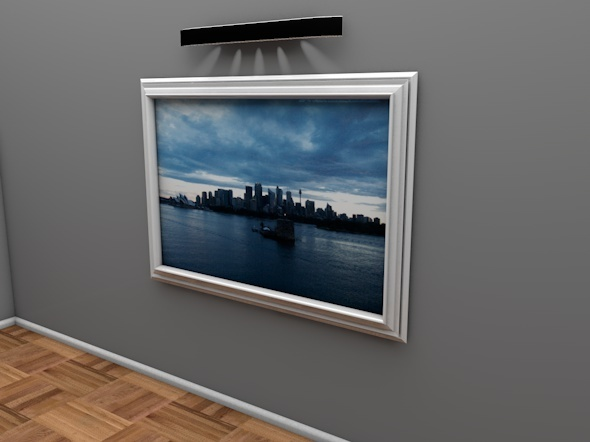 Modern Picture/Artwork Frame - 3DOcean Item for Sale