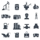 Set of Oil and Gas Icons - GraphicRiver Item for Sale