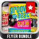 Groovy Beat Flyer BUNDLE - GraphicRiver Item for Sale