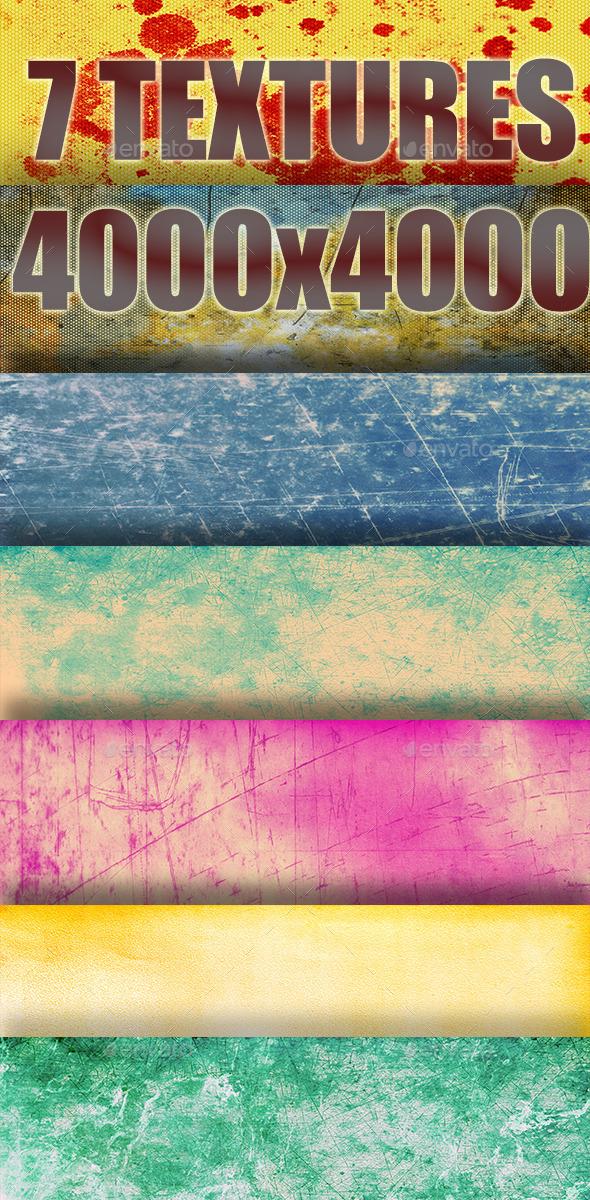 Grunge Textures Pack 4 - Industrial / Grunge Textures