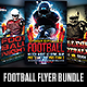 Football Flyer Bundle 3 in 1 - GraphicRiver Item for Sale