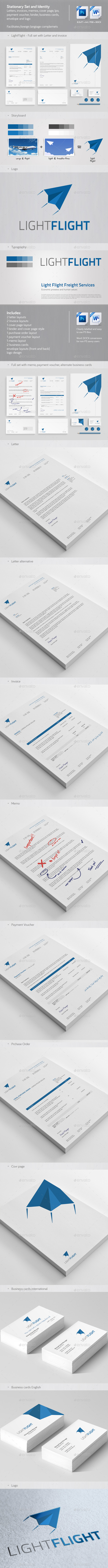 Clean & Modern Stationery, Invoice and Identity 2 - Stationery Print Templates