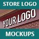 Store Logo Mock Ups - GraphicRiver Item for Sale