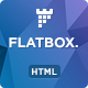 FlatBox -  Software Landing Page Template - ThemeForest Item for Sale