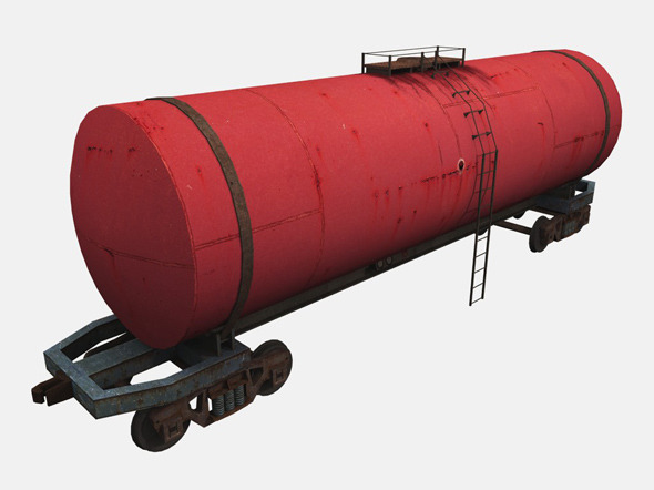 Tank Car - 3DOcean Item for Sale