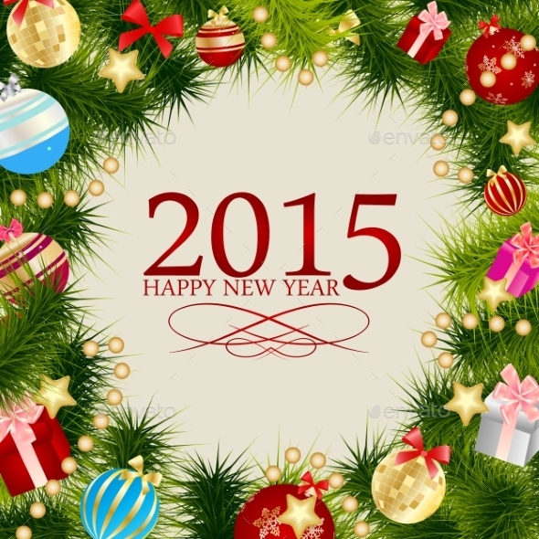 Abstract Christmas 2015 and New Year Background - Christmas Seasons/Holidays