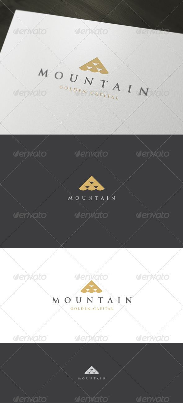 Mountain Logo - Vector Abstract