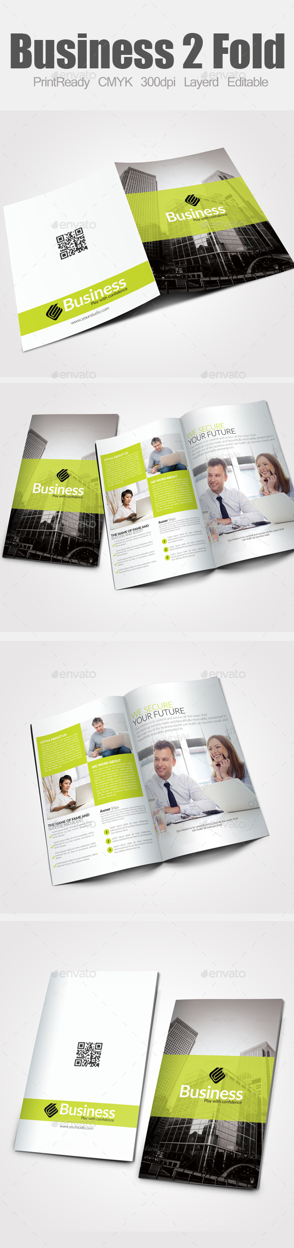 Bi Fold Business Brochure - Corporate Brochures