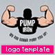 Pump Iron Logo Template - GraphicRiver Item for Sale