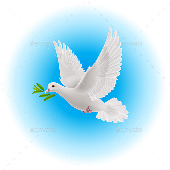 Dove of Peace - Patterns Decorative
