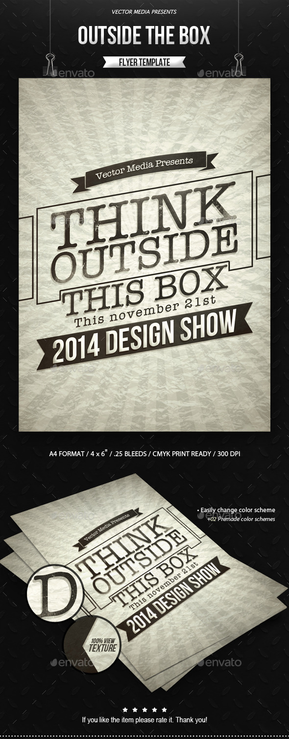 Outside The Box - Flyer - Miscellaneous Events