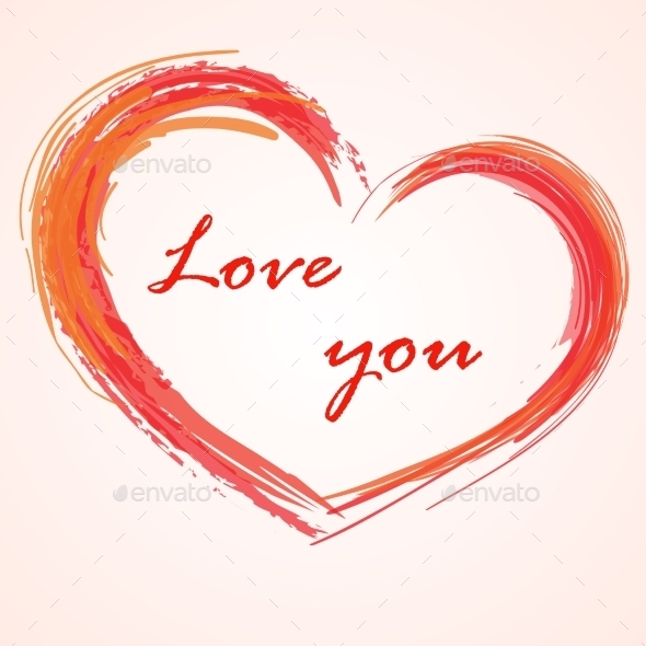 Love Background Heart - Decorative Symbols Decorative