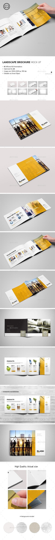 Landscape Brochure / Catalog Mock-Up - Brochures Print