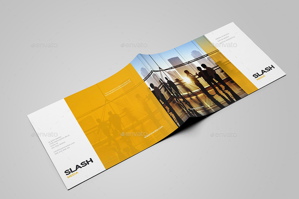 Landscape Brochure / Catalog Mock-Up By Grafas | Graphicriver