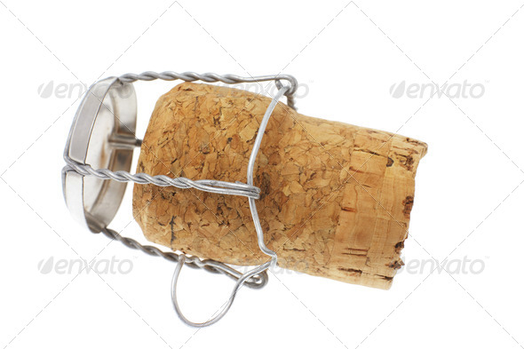 Cork Stopper - Stock Photo - Images