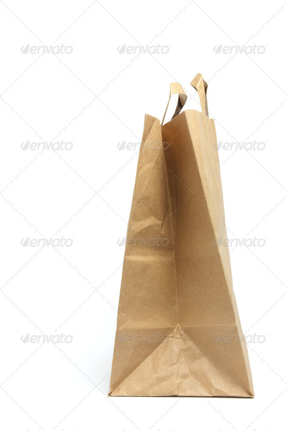Brown Paper Bag - Stock Photo - Images