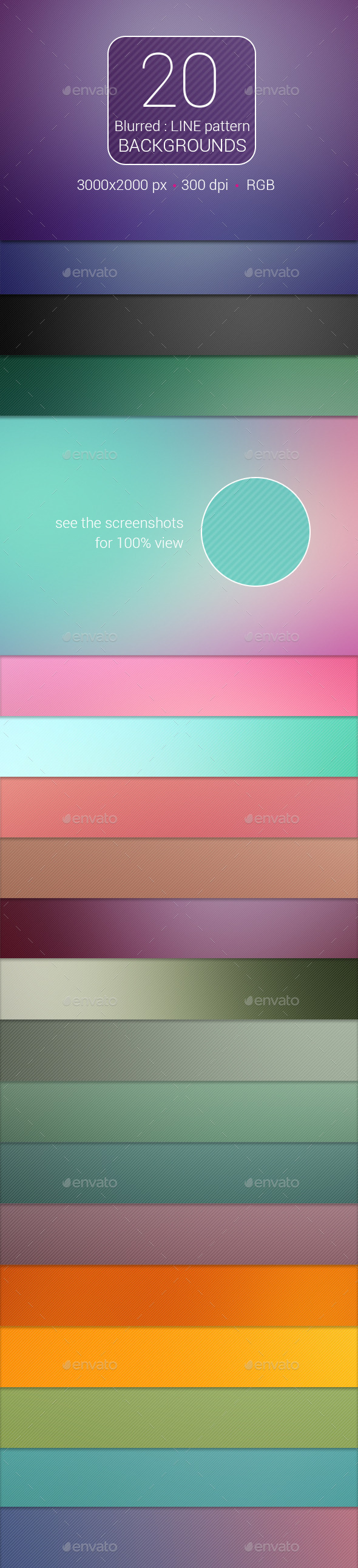 20 Blurred Line Pattern Backgrounds - Backgrounds Graphics