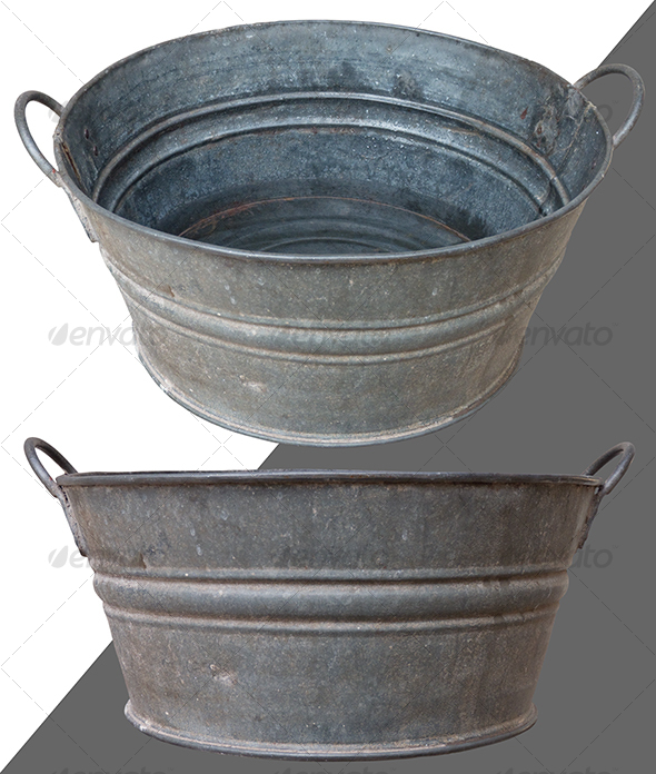 Antique Basin - Home & Office Isolated Objects