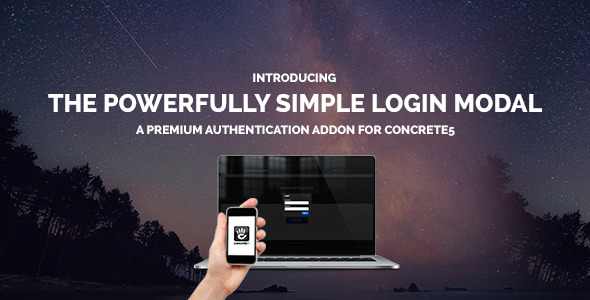 Simple Login Modal For Concrete 5 - CodeCanyon Item for Sale