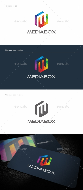 Mediabox - Logo Template - Letters Logo Templates