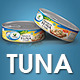 Canned Tuna V 2.0 - Mockup for Printing - GraphicRiver Item for Sale
