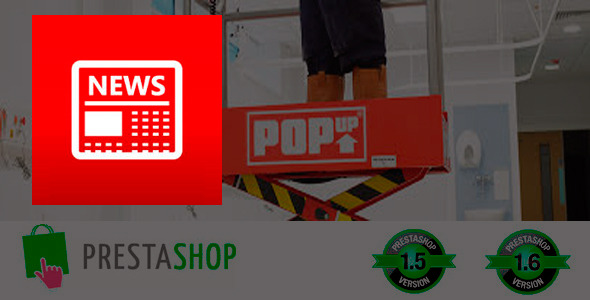 Popup box notification for prestashop - CodeCanyon Item for Sale