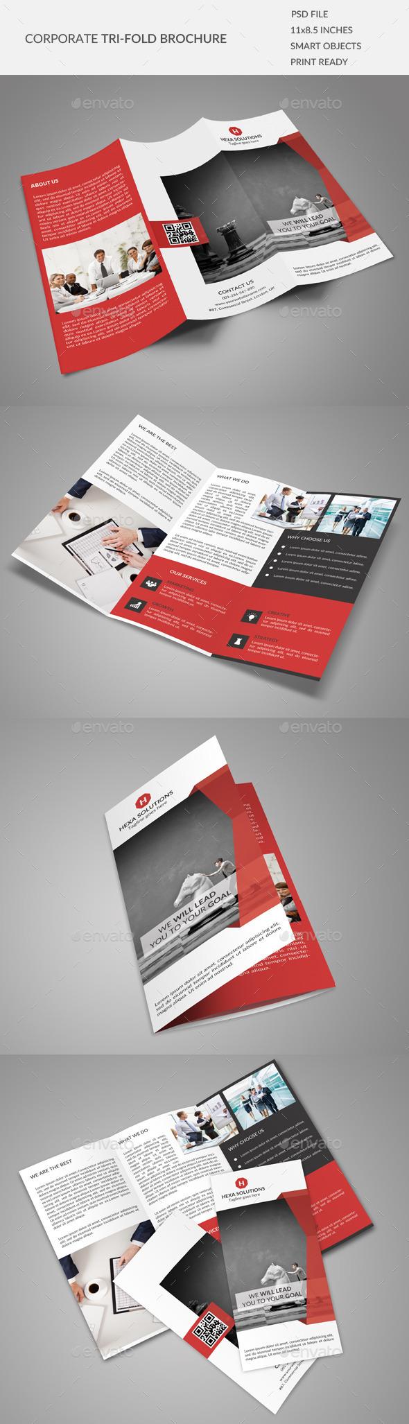 Corporate Tri-fold Brochure 02 - Corporate Brochures