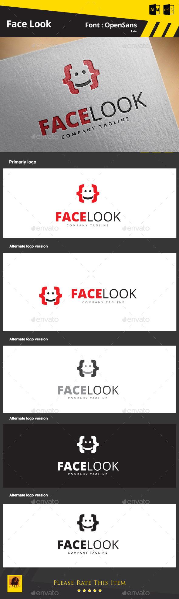 Face Look - Humans Logo Templates