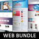Web Page Mock-Up Bundle V1 - GraphicRiver Item for Sale