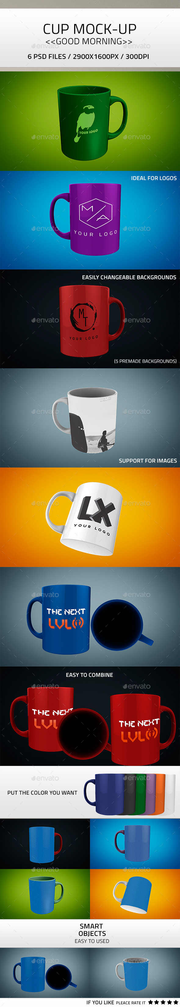 Cup PSD - Product Mock-Ups Graphics