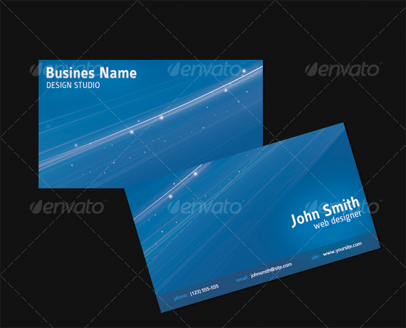 Space Business Card - Creative Business Cards