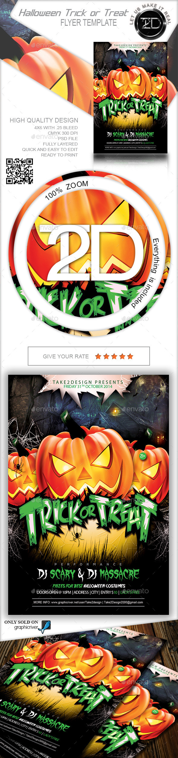 Halloween Trick or Treat - Clubs & Parties Events