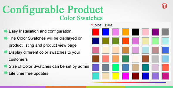 Magento Color Swatches - CodeCanyon Item for Sale