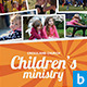Children's Ministry Church Flyer - GraphicRiver Item for Sale