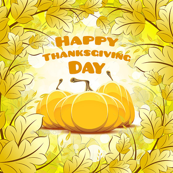 Happy Thanksgiving Day Card - Seasons/Holidays Conceptual
