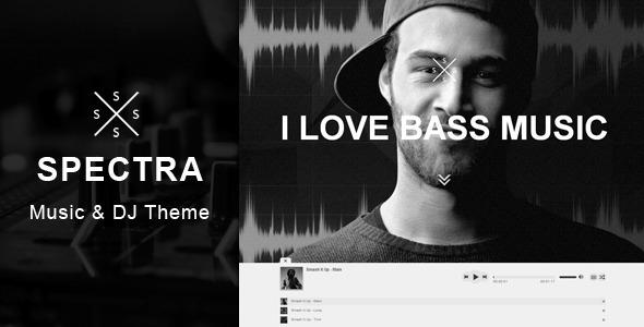 Spectra – Responsive DJ & Music Theme
