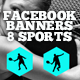 Facebok Banners - Sports - GraphicRiver Item for Sale