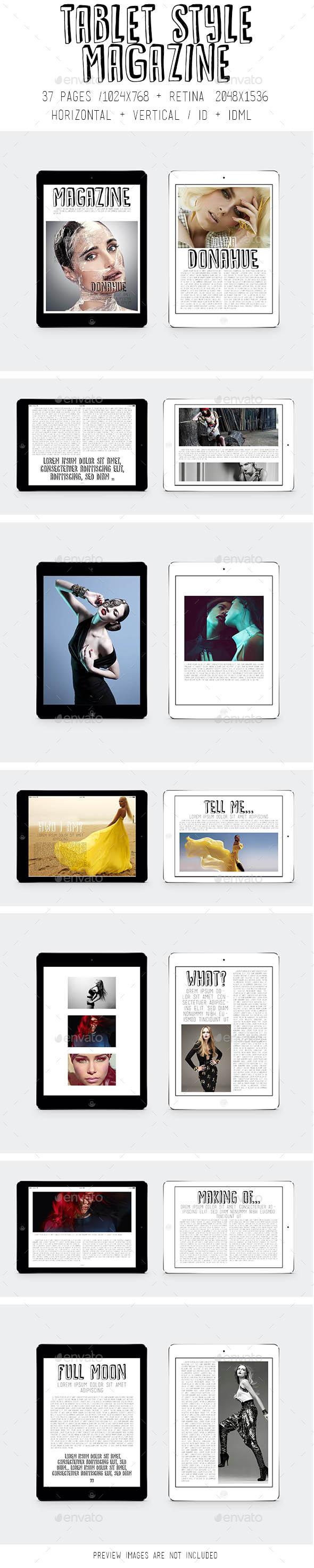 iPad & Tablet Style Magazine - Digital Magazines ePublishing