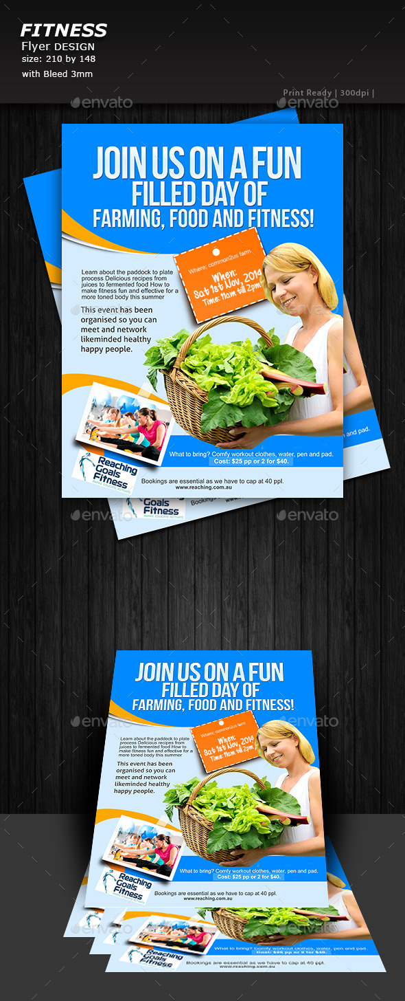 Farming Flyer - Flyers Print Templates