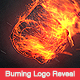 Burning Logo Reveal - VideoHive Item for Sale